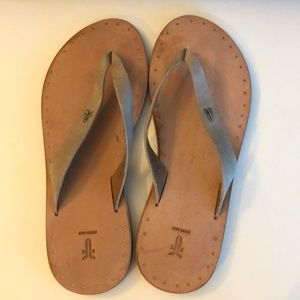Frye Ally Sandals - Brown Leather 7M